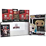 Suicide Squad Bundle by Mad House Central - Harley Quinn Pop, Keychain, Magnet & 2 Mystery Mini's