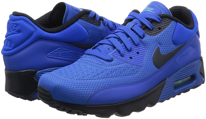 separation shoes 4b4d0 b2408 Amazon.com   Nike Mens Air Max 90 Ultra SE, Hyper Cobalt, 845039-401 (13)    Road Running
