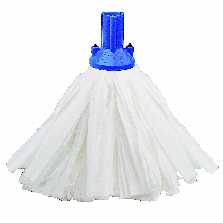 Exel B24 Big White Socket Mops Blue - Pack of 10 HA024-B