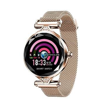 Smart Watch pour Femme, Fulltime® Sport Montre Connectée Pression artérielle moniteur Cardiofréquencemètre Pédomètre Bracelet