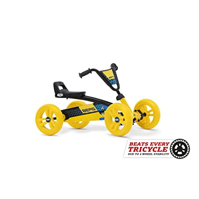 Berg Go Kart, Colour Yellow Black, 8715839066562: Toys & Games