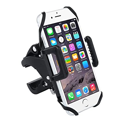Badalink Bicycle Phone Holder Universal BicycleMotorcycle Mount 360 Degrees Rotatable Cradle Clamp Bike Cellphone Cycling Stamp