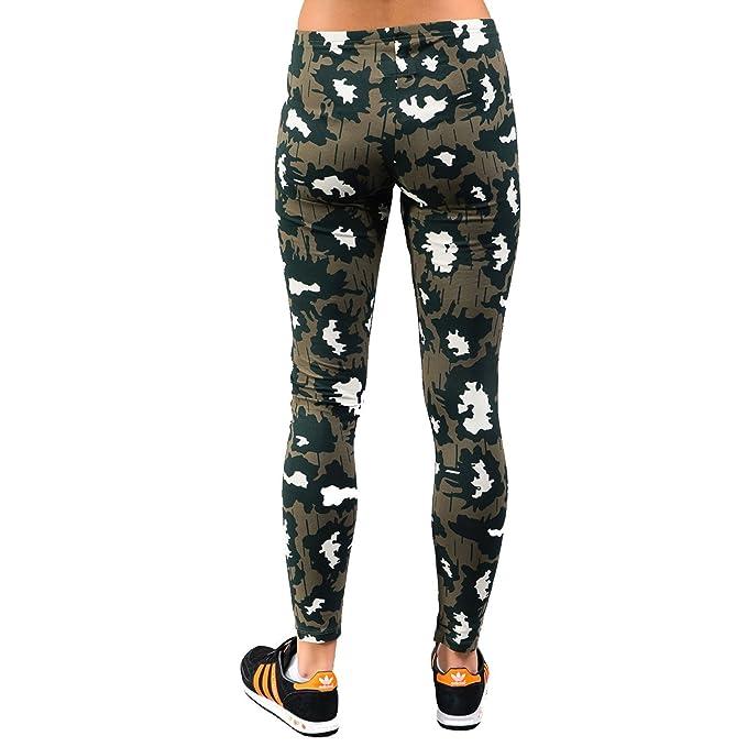 adidas Originals Womens Khaki Camo Print Gym Fashion