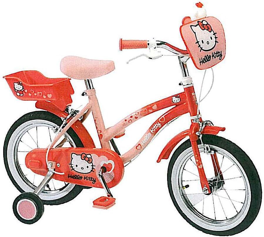 Hello Kitty Bicicleta infantil niños (Ruedas 35,56 cm 14