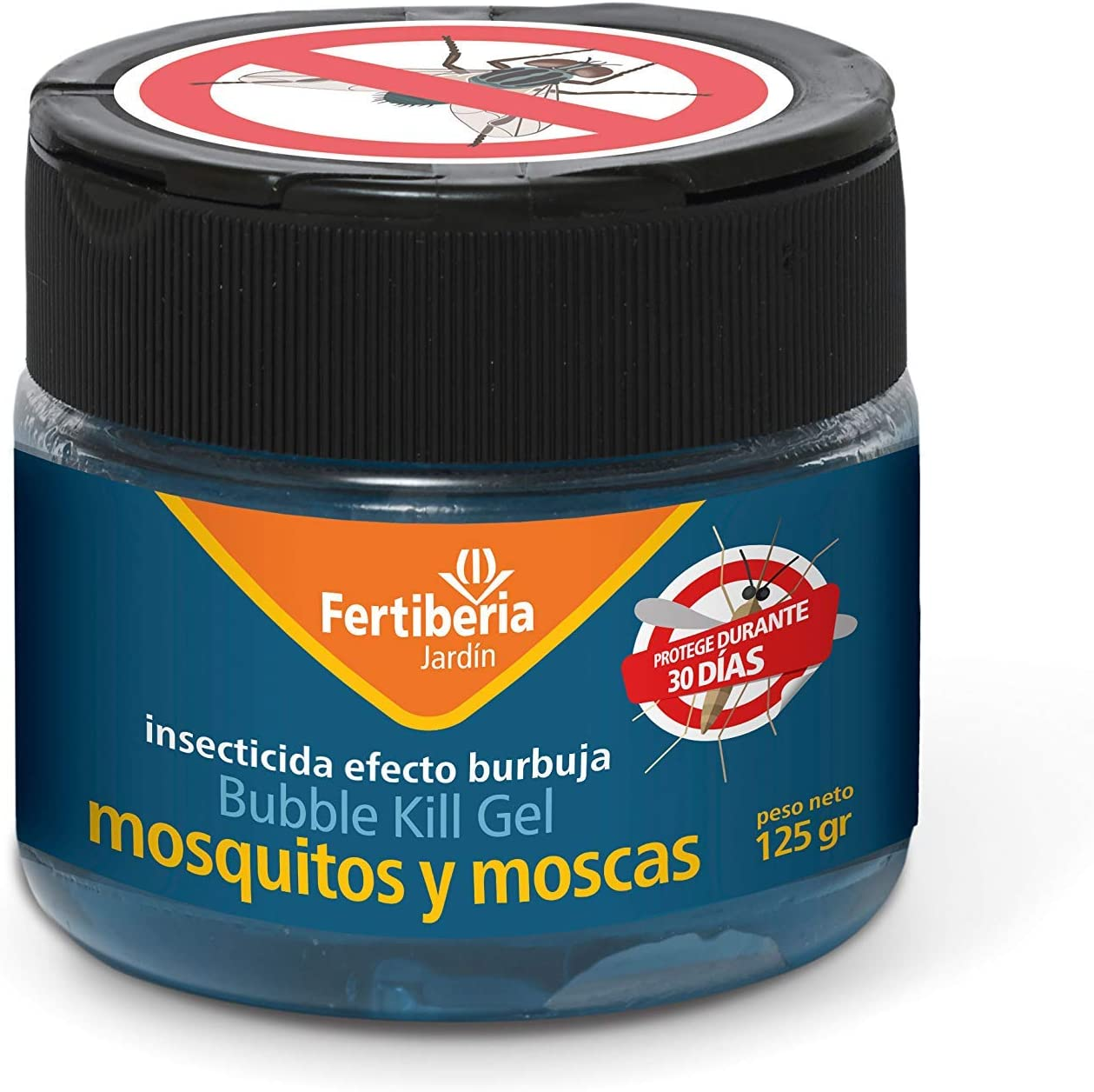 FERTIBERIA JARDÍN Insecticida Gel Mosquitos y Moscas (Bubble Kill Gel) - Bote 125 gr.: Amazon.es: Jardín