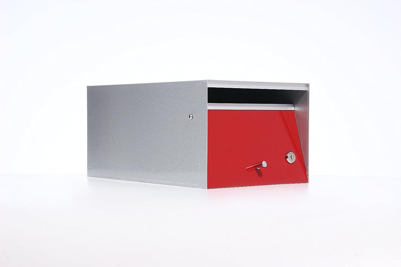 Box Design ポスト 郵便受け Urban Red B00W6HVXSS 28620 Red Red