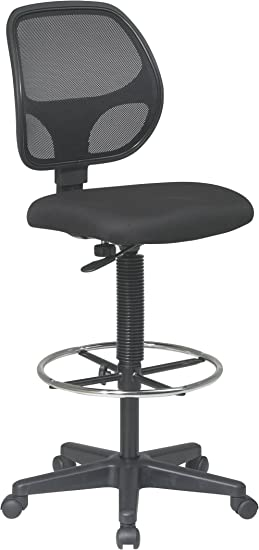 Office Star Deluxe Mesh Back Drafting Chair - Good For The Money