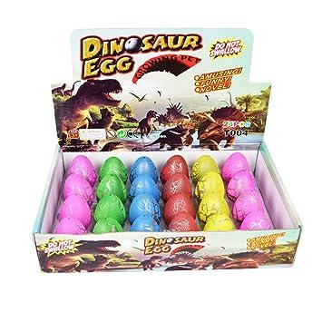 Toys & Hobbies Yeelan Hatching Dino Egg Toy Dinosaur Dragon Hatch-grow Eggs Large Size Pack Of Animals & Dinosaurs