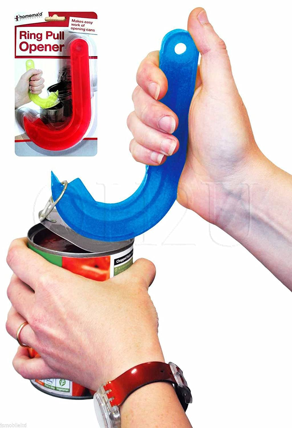Dpny JAR CAN RING PULL OPENER GRIPPER DISABILITY AIDS TIN DRINK LID PULLER EASY EDGE home