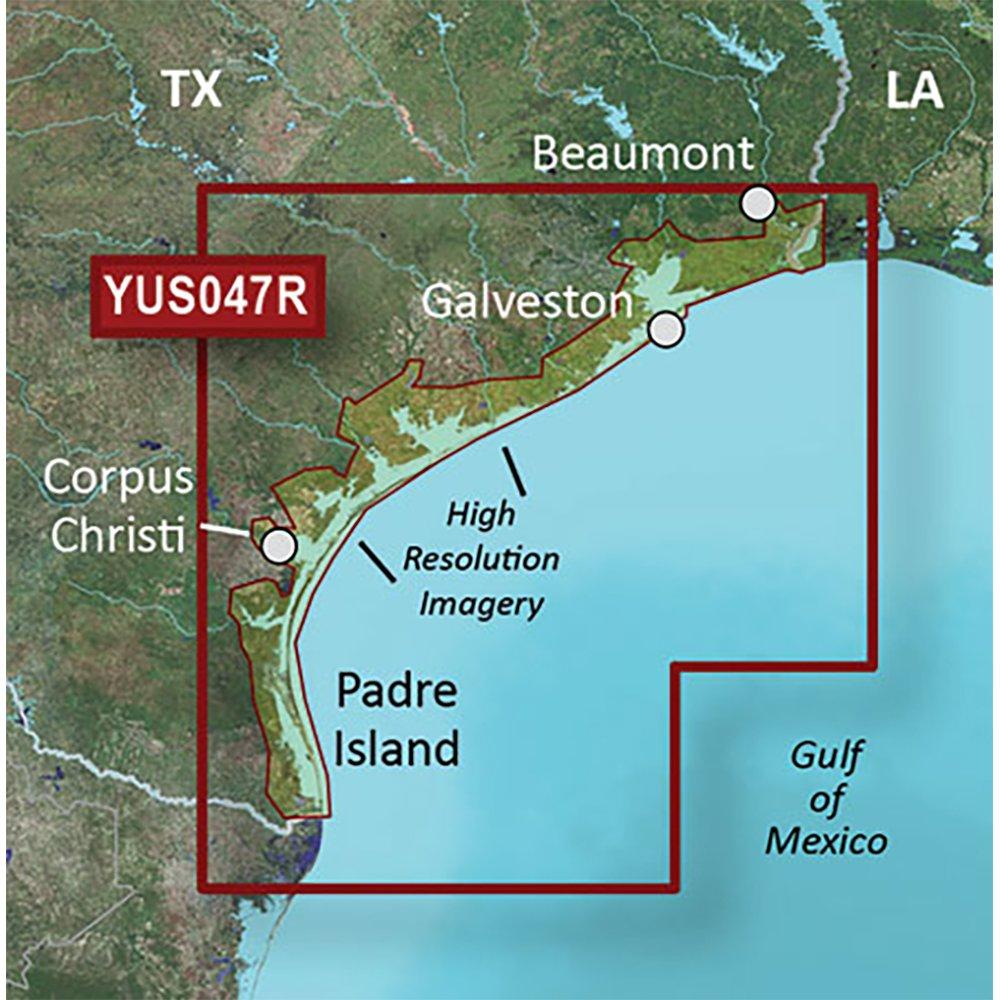 Garmin BlueChart g2 HD W/高解像度衛星画像 B01M5IRY98 Texas Gulf Coast Texas Gulf Coast