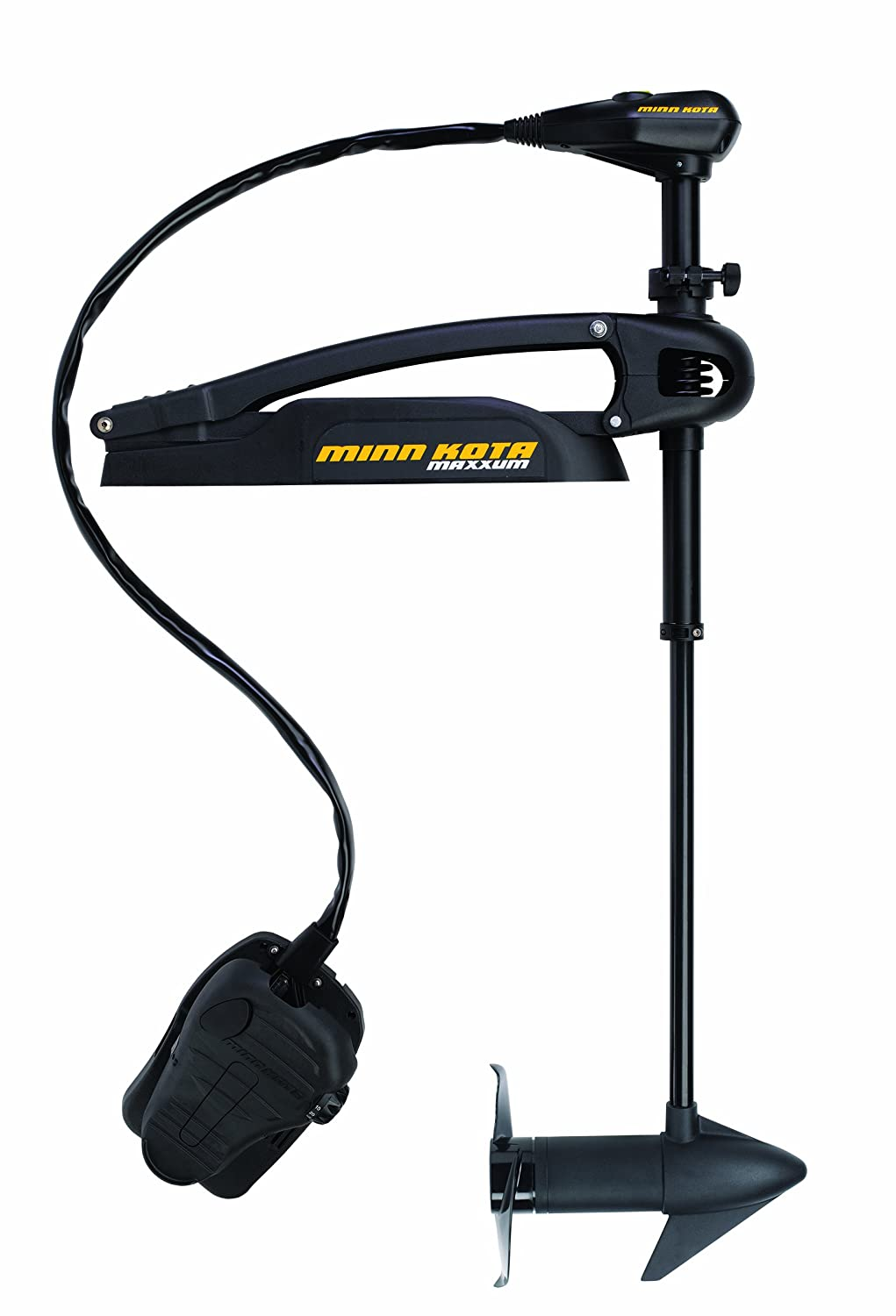 Minn Kota Maxxum Bowmount Trolling Motor With Hand Foot Control 24v Wiring Diagram Sports Outdoors
