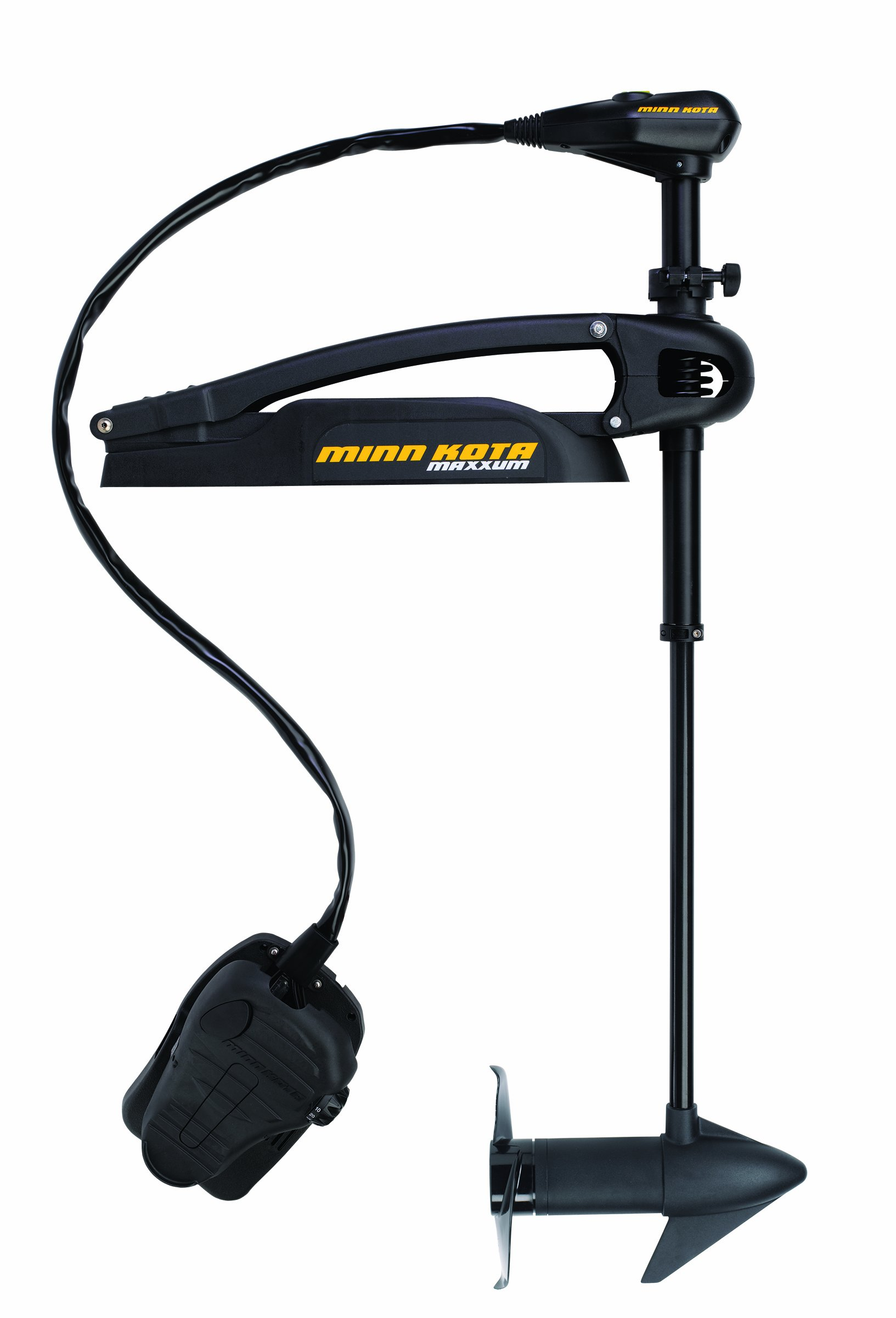 Minn Kota Maxxum 70 Bow-Mount Trolling Motor with Foot Control and Bowguard (70-lb Thrust, 42'' Shaft) by Minn Kota