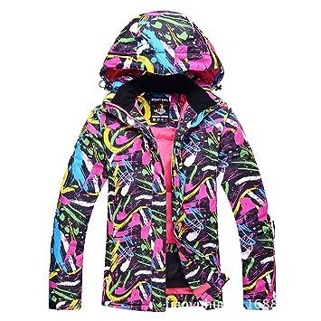 Uzanesx Chaqueta de esquí de montaña para Mujer Chaqueta de Abrigo para Deportes de Invierno (Color : B01, Size : XL): Amazon.es: Hogar