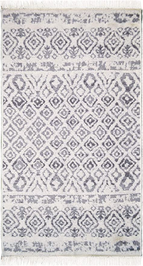 Home and Home Kelim YASI - Alfombra de fibra natural, 100% algodón ...