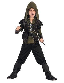 Generique - Traje de Cazador Arquero niño XS 3-4 años (92 ...