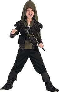 Generique - Traje de Cazador Arquero niño XS 3-4 años (92-104 cm ...