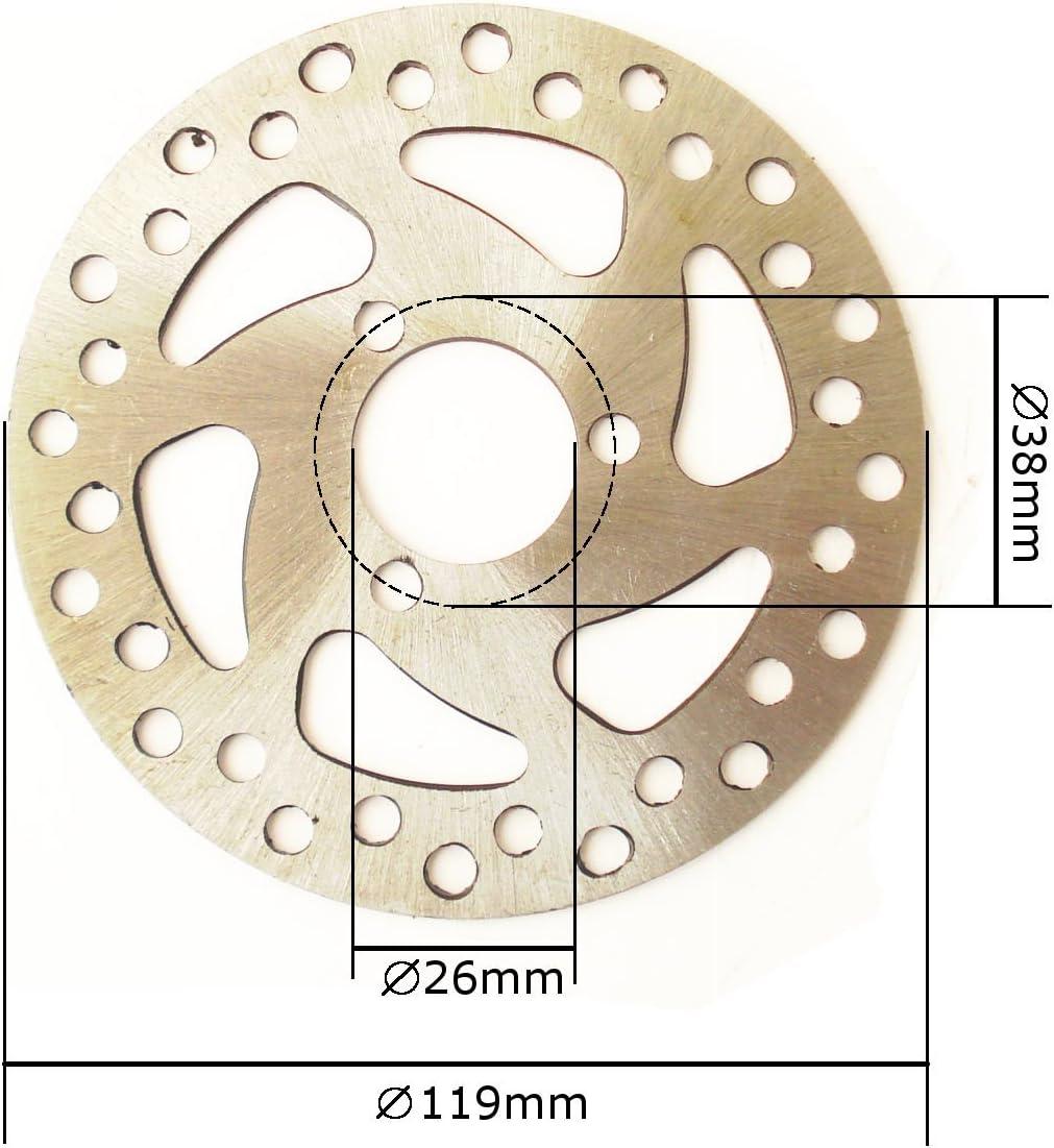 Pocket Bike ATV HMParts Reifen 4.10-4 Typ 3 Mini Quad