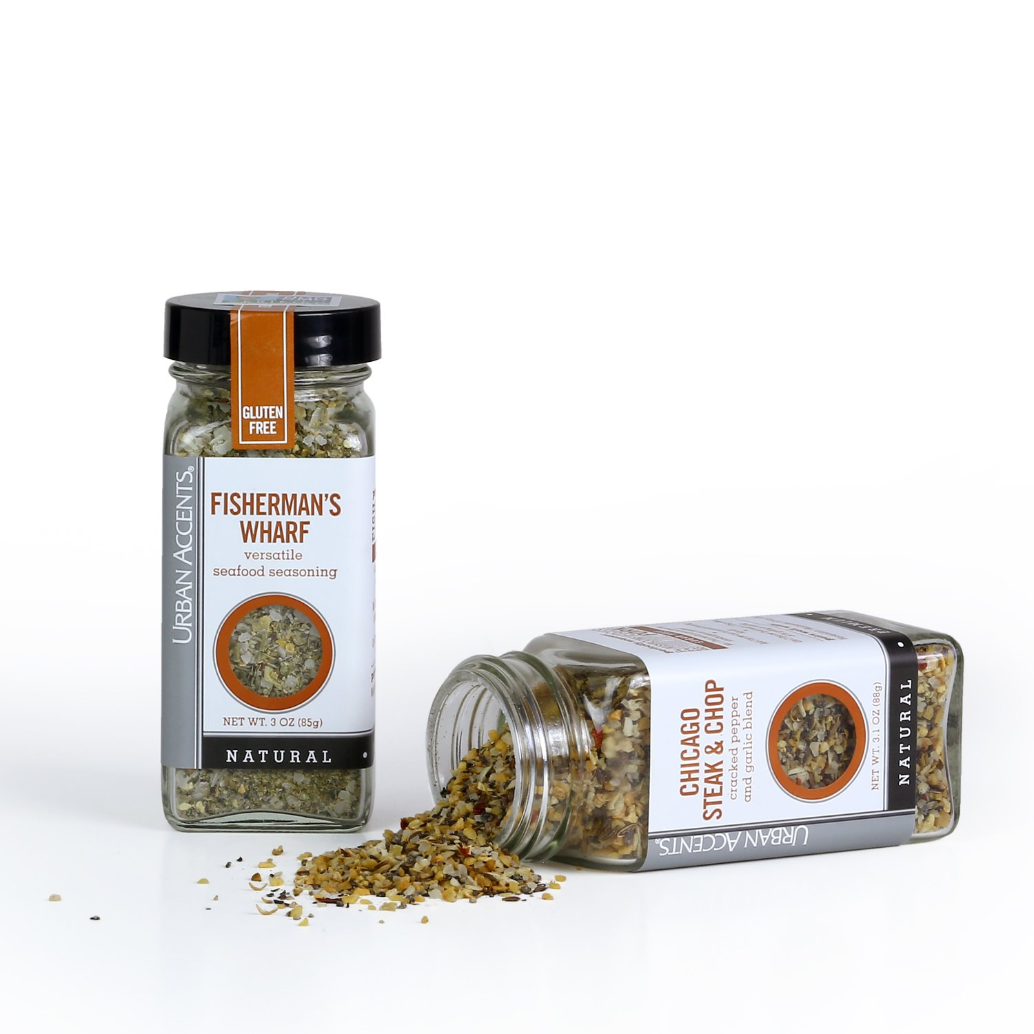 Urban Accents FOODIE ESSENTIALS, Gourmet Gift Set, A Collection of Spices, Veggie Roasters and Dryglazes, Perfect for Weddings, Housewarmings or Any Occasion by Urban Accents (Image #3)