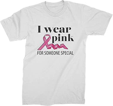 I Wear Pink for Someone Special Youth T-Shirt Breast Cancer Awareness Kids Tee