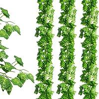 SOMONEY 15 paquetes de 105 pies Plantas Hiedra