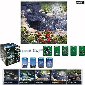 SICCE - Kit estanque flexible HappyPond 550 litros - Dimensiones 153 x 112 x 61 cm: Amazon.es: Bricolaje y herramientas