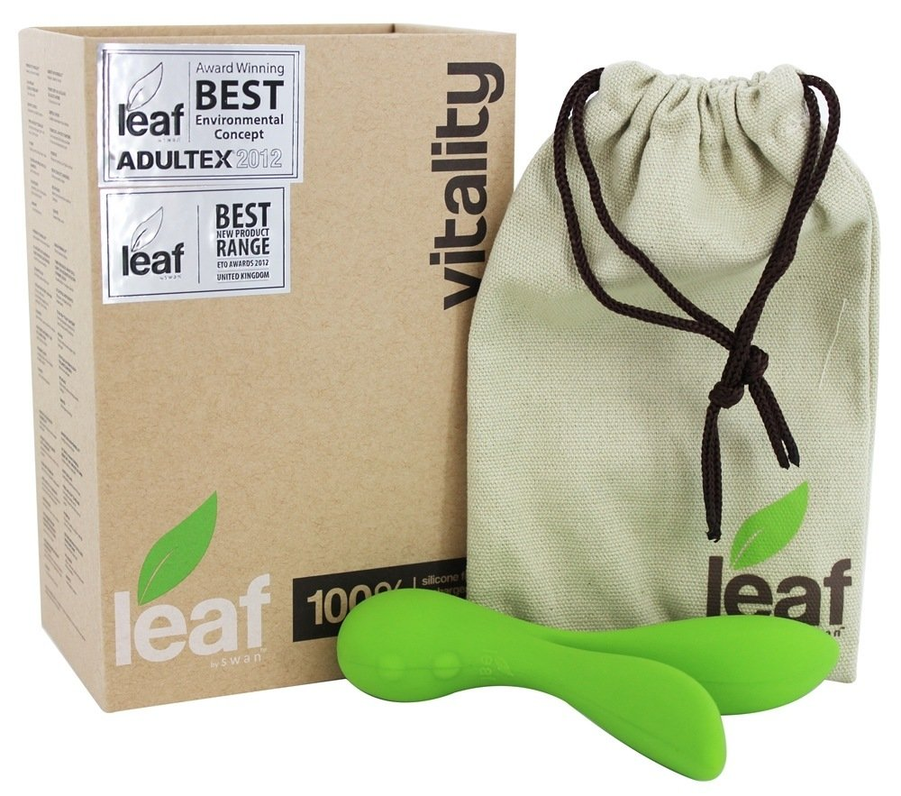 Leaf By Swan Vibes - VITALITY with Good Clean Love Lube Kit by BMS Enterprises