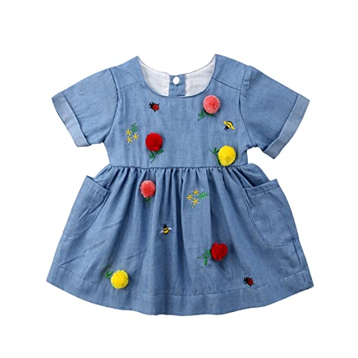 Pollyhb Toddler Baby Girls Christmas Clothes,Baby Girl Ruched T-Shirt Tops Pants