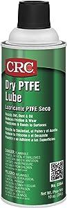 CRC 03044 Dry PTFE Lubricating Spray, (Net Weight: 10 oz.) 16oz Aerosol