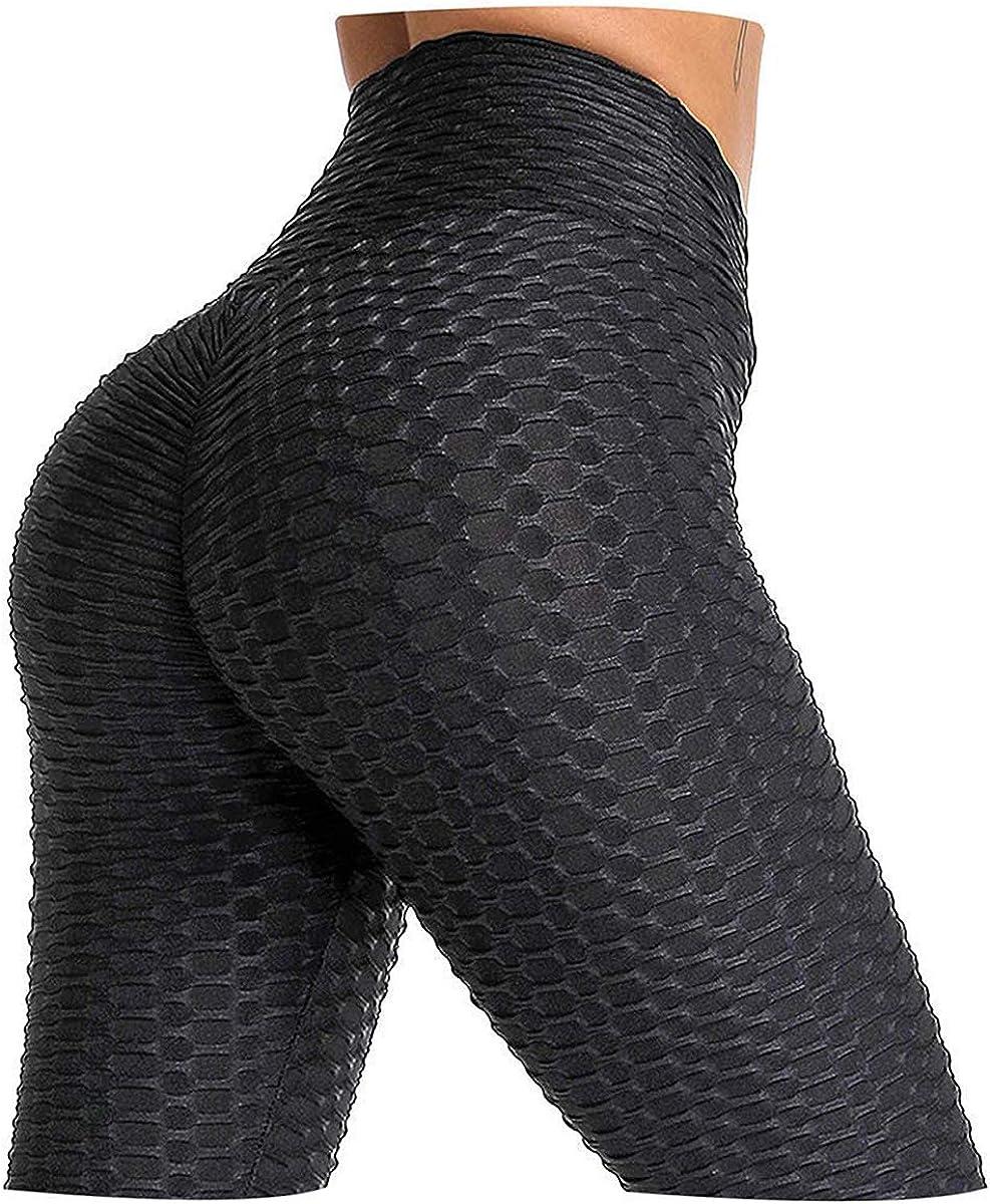 Women Anti-Cellulite High Waist Pants Yoga Gym Leggings Elastic Sports Trousers*