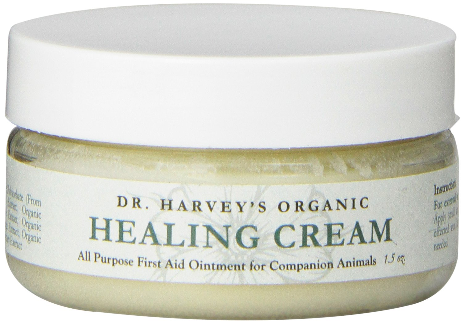 Dr. Harvey's Organic First Aid Healing Cream for Dogs, 1.5-Ounce Jar by Dr. Harvey's