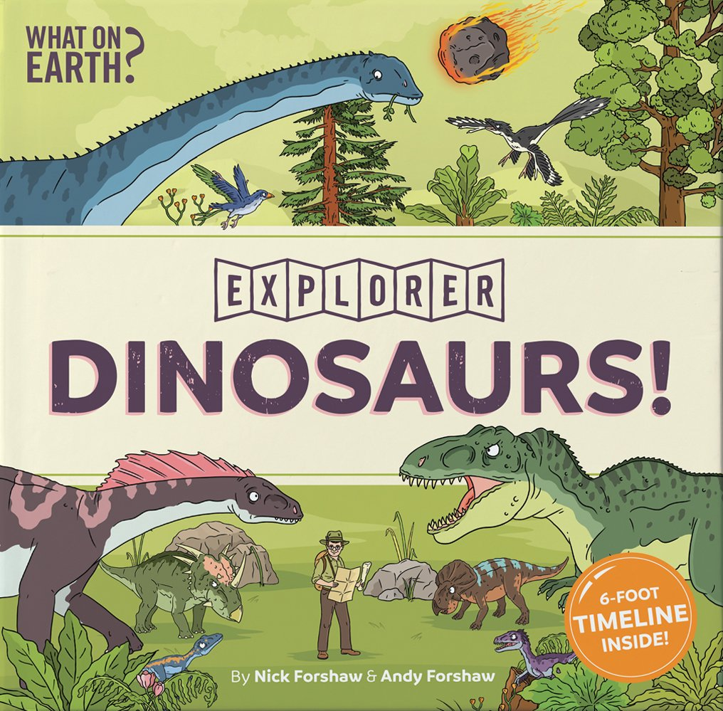 Explorers in Dinosaur World