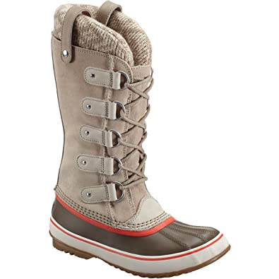 Damen Sorel Joan Of Arctic Knit Winter Schnee Regen Mitte Wade Stiefel