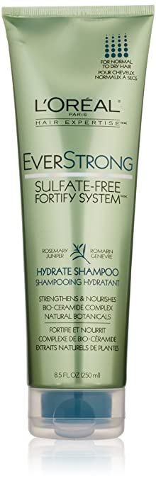 Amazon.com : L'Oreal Paris EverStrong Sulfate-Free Fortify System ...