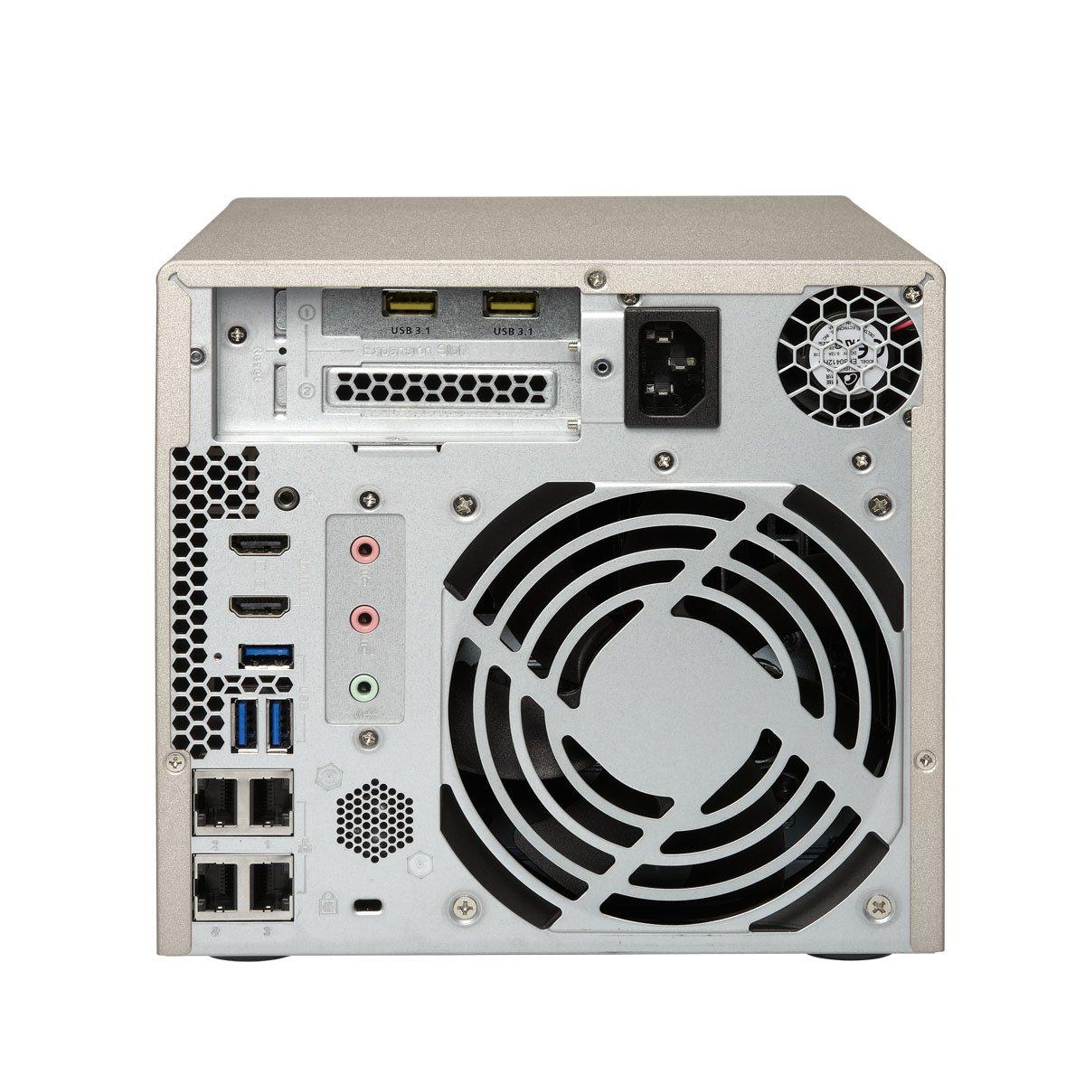 Qnap TVS-473-8G-US 4-bay NAS/iSCSI IP-SAN, AMD R series Quad-core 2.1GHz, 8GB RAM, 10G-ready by QNAP (Image #4)