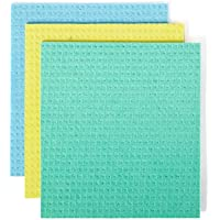 Full Circle Squeeze Cellulose Sponge Cloths, 3 ct