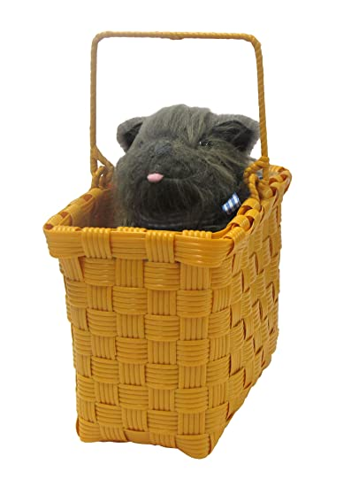 Wizard of Oz tm Toto in a Basket by Rubies
