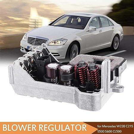 New Blower Motor Resistor Regulator for Mercedes Benz W220 C215 S500 S600 CL500