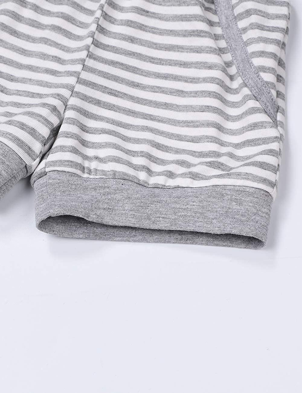 2Pcs Toddler Baby Boy Clothes Summer Sleeveless Vest Tops Stripe Shorts Outfit Set
