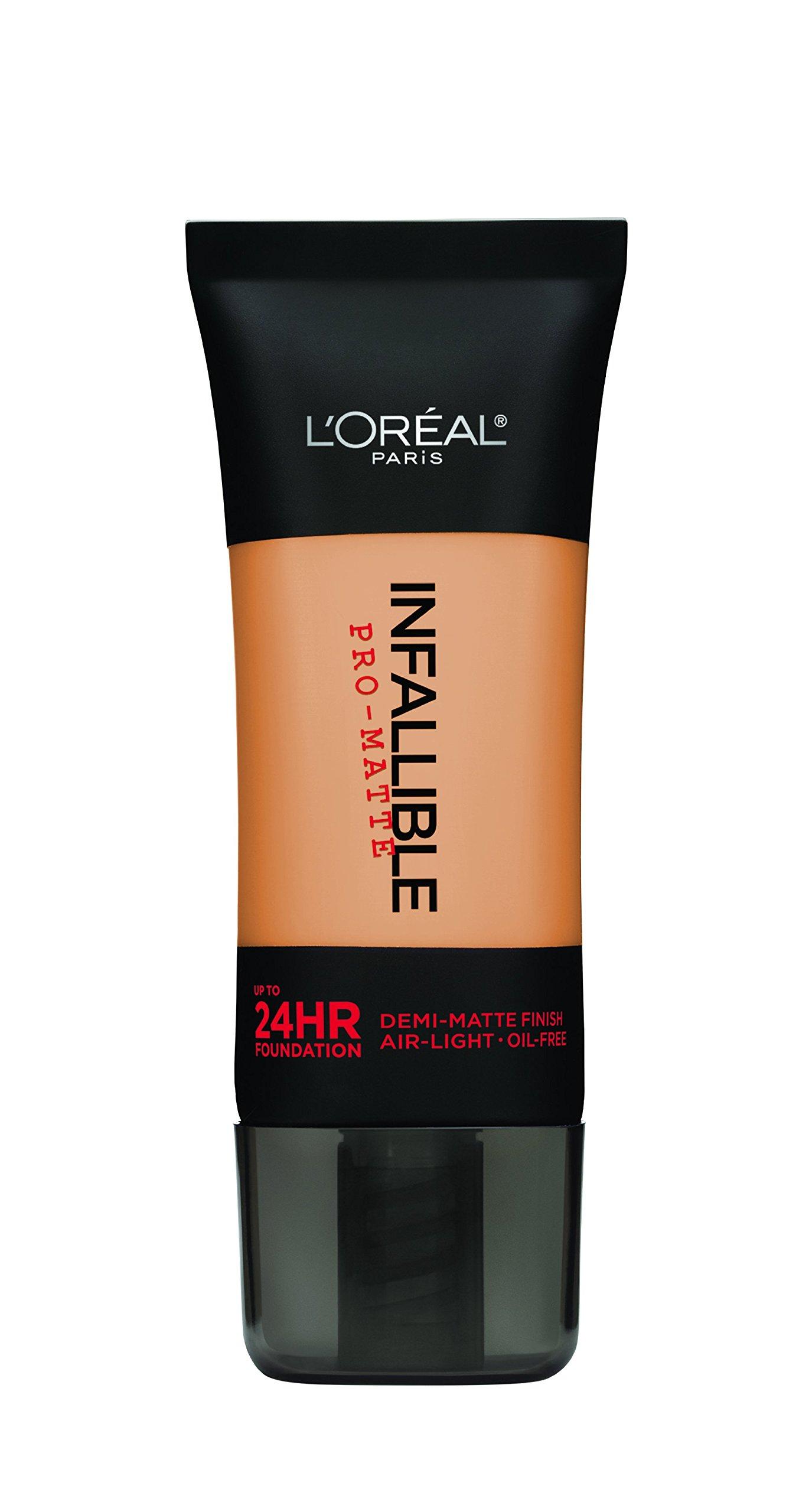 L'Oréal Paris Infallible Pro-Matte Foundation, Natural Buff, 1 fl. oz.