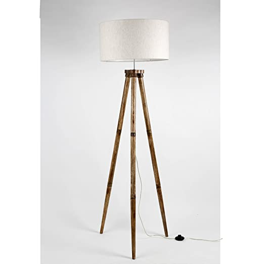 Without shade wooden tripod floor lamp base only mango wood folding without shade wooden tripod floor lamp base only mango wood folding decorative standing light aloadofball Choice Image