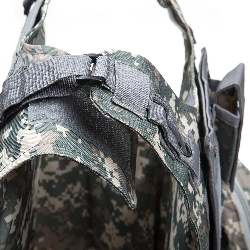 LifePlus Maglia per Tattico Militare Esercito Poliammide Gilet da Caccia Impermeabile Antistatico Durevole Assorbimento di umidit/à per all/'Aperto Campeggio Escursionismo