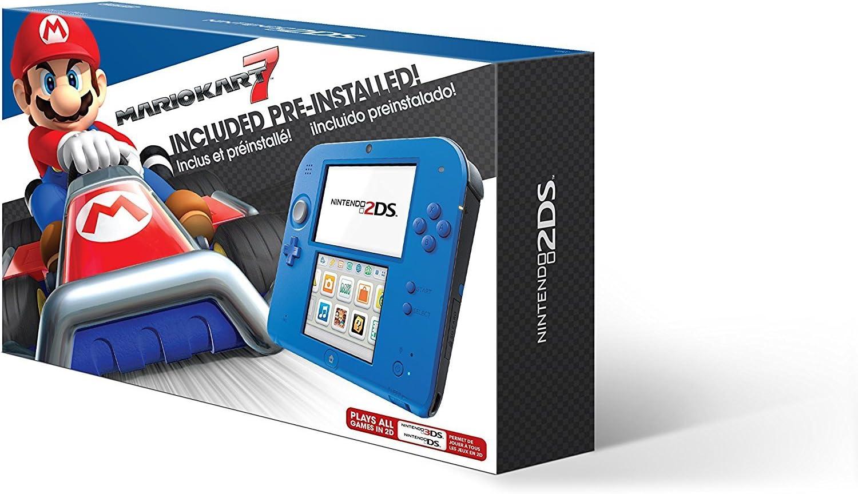 Nintendo 2DS Bundle (2 Artículos): Nintendo 2DS Electric Blue 2 w ...