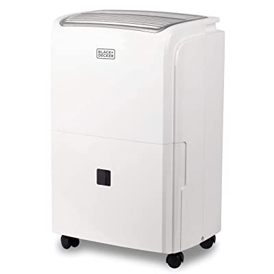 BLACK+DECKER BDT50WTB Dehumidifier, 50 Pint, White: Home & Kitchen