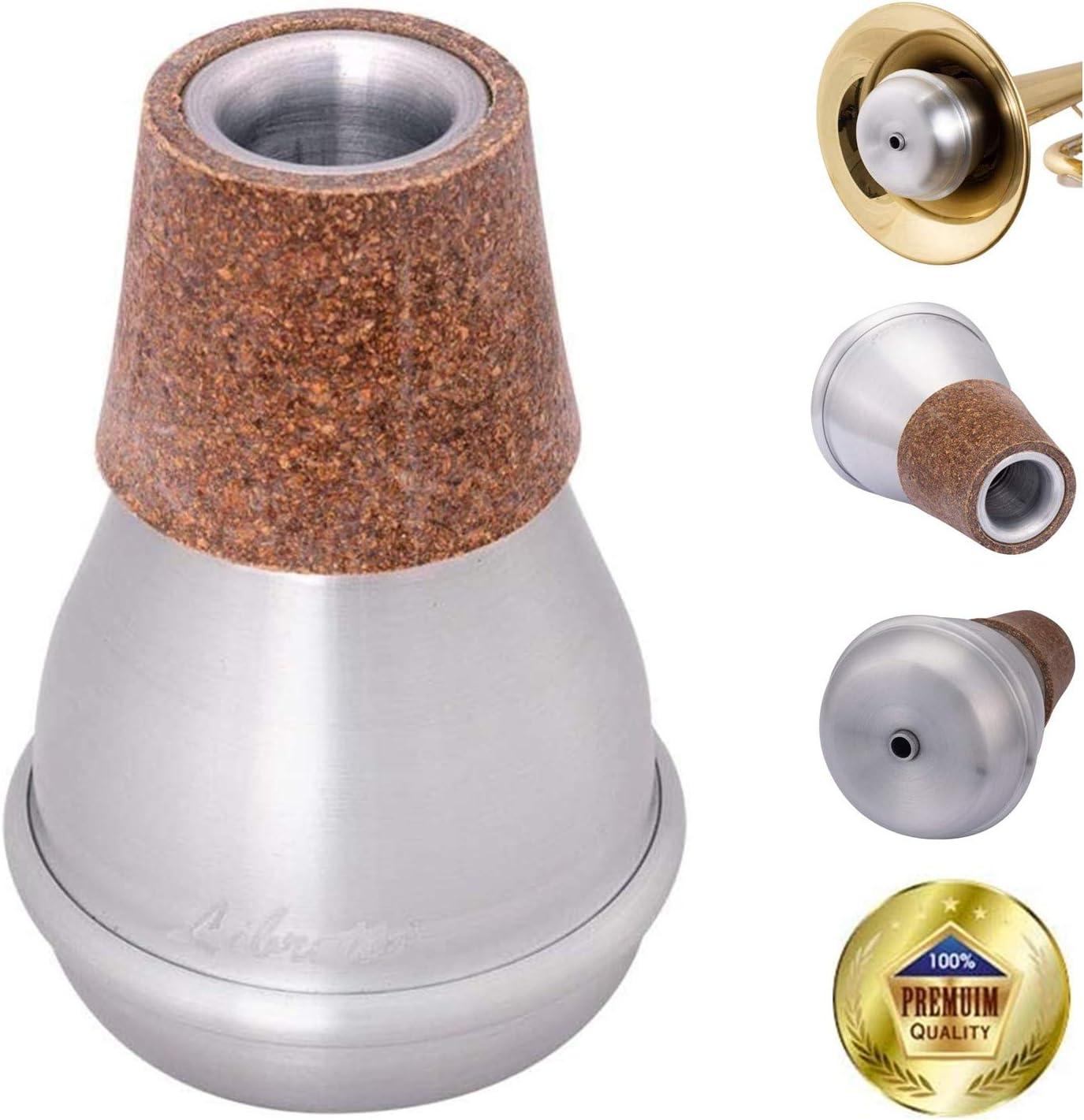 Libretto Trumpet Mute Silencer, AC011-7, Practice Mute, All Aluminum, Excellent for Practice Purpose