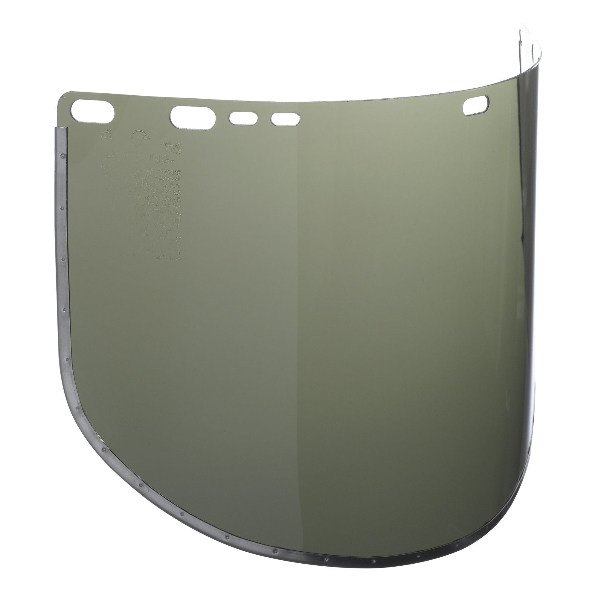 Jackson Safety F30 Acetate Face Shield (29090), 9'' x 15.5'', Dark Green, Reusable Face Protection, 50 Shields / Case by Jackson Safety