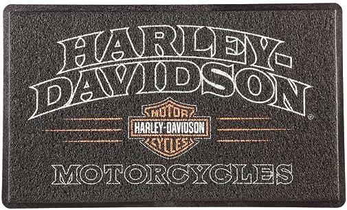 Harley-Davidson American Legend PVC Entry Floor Mat, 18 x 30 – Black 41LM4900