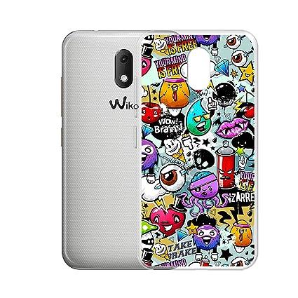Amazon com: HYMY Case Cover for Wiko Sunny 3 Mini (4 0