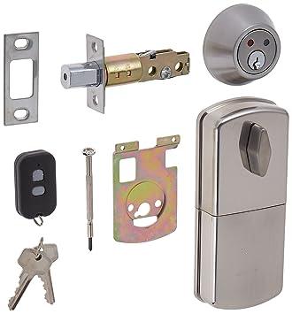 MiLocks WF 02SN Digital Deadbolt Door Lock With Keyless Entry Via Remote  Control For Exterior