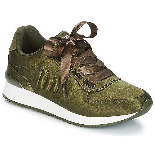 Mustang 69144 Zapatillas Mujer Color Verde Talla: 41: Amazon.es: Zapatos y complementos