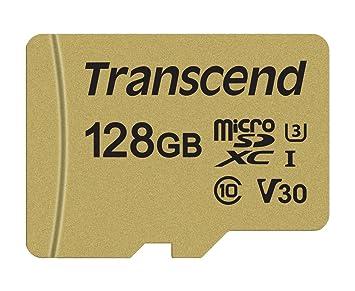 Transcend USD500S - Tarjeta microSD de 128 GB, microSDHC ...